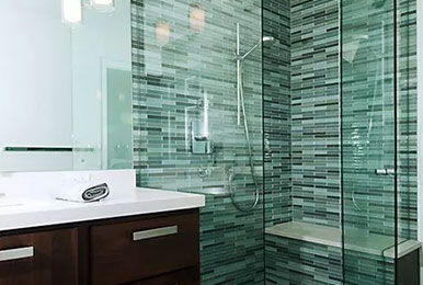 Shower room construction pay attention to share: shower room size design is what